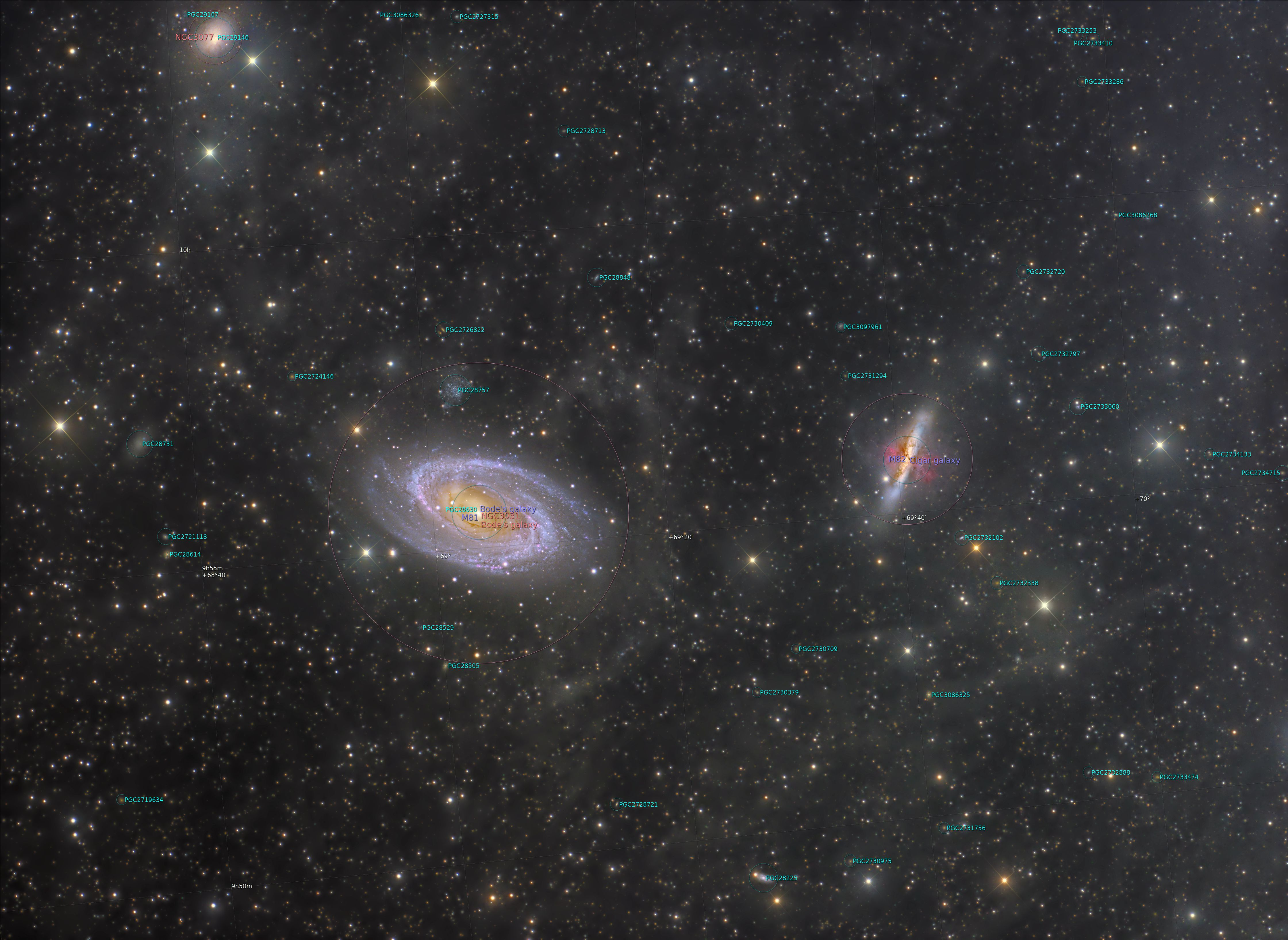 M 81 M 82 IFN Annotated